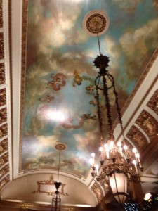 This is some ceiling!